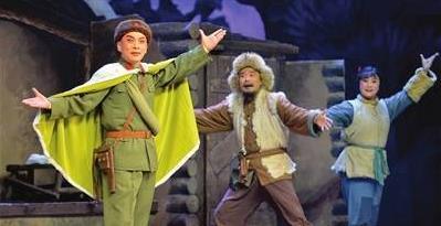 天津京剧院庆祝中国共产党成立97周年