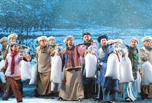 金金重剧院在太原少年宫演出《王家大园》