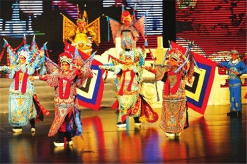 兰州市举办新年京剧晚会