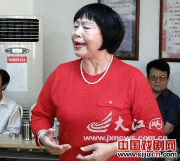 江西老干部北京剧团组织了多次慰问演出