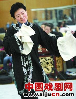 平剧第四代白教在王冠丽陶然亭演唱