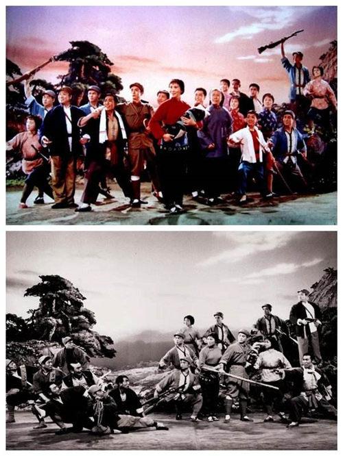 山东临沂京剧剧院上演红色经典戏剧《红色嫂子》