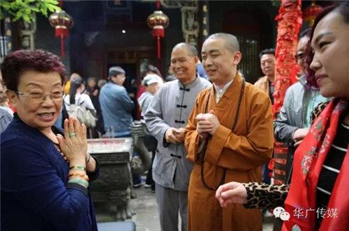 京剧大师王爱爱在泰山举行选民大会庆祝金棺舍利发掘七周年