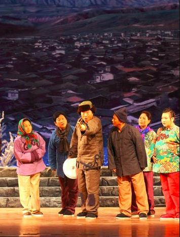 2018年12月29日,天津平剧剧院第三组演出《非凡的母亲》
