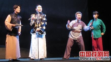 中国评剧第二组的《白毛女》