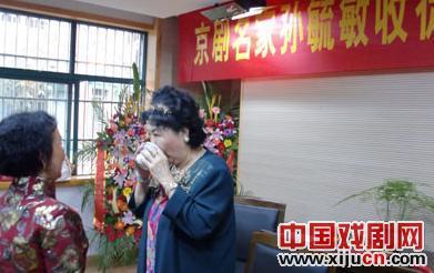 孙毓敏视68岁的选民为研究员