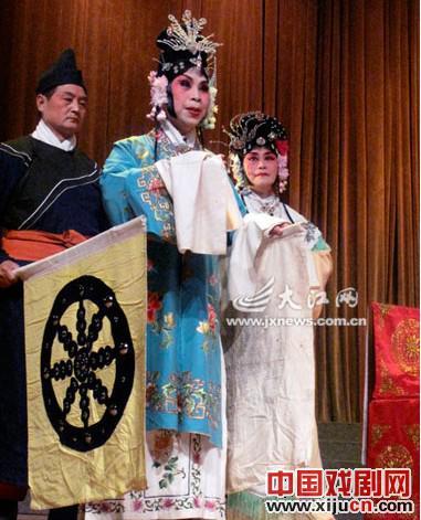 江西省老战士京剧团庆祝成立25周年