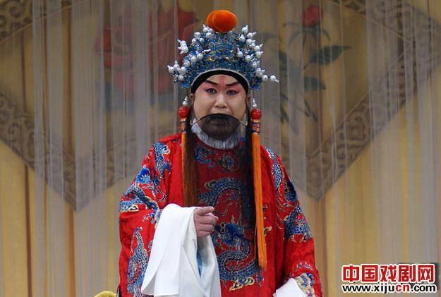 Xi京剧流派的第三代传人张俊强