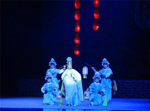 安徽徽派京剧剧院新创作的大型历史京剧《戚继光将军抗日》