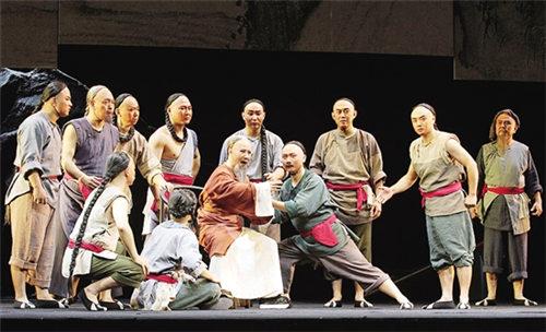 长安大剧院将于10月30日至31日演出金歌剧《布于成龙》。