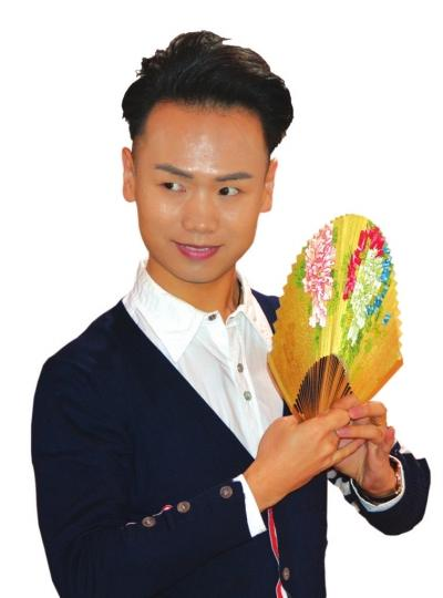 叶傲昌作为华丹90后男生的艺术生活