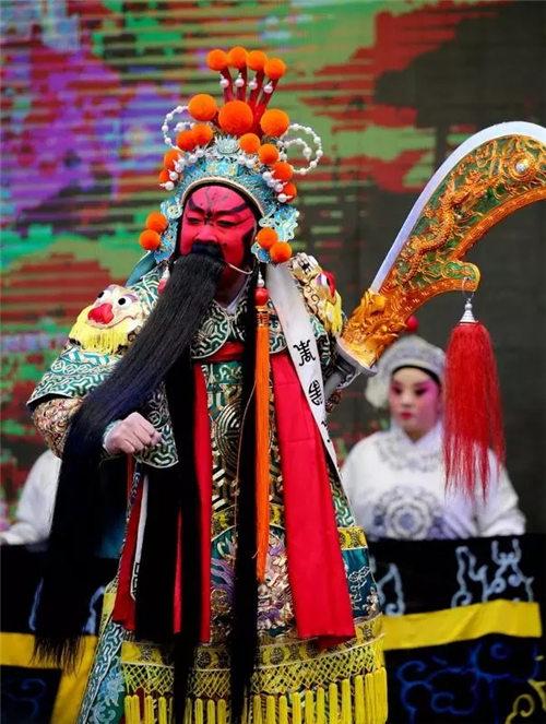 大型舞台剧《关公》在蔚县上演