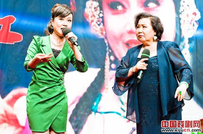 天津平举白排剧团主办施立红演唱会