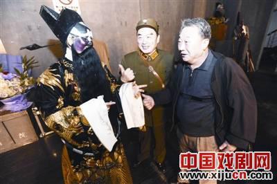 京剧迷们共同表演了一个精彩的夜晚
