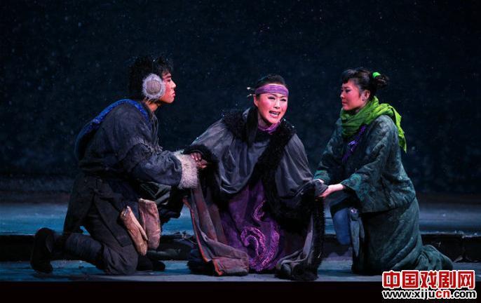 平剧《我的呼兰河》角逐第25届中国戏剧梅花奖
