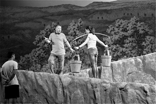 原创现代京剧《盘龙岭》在晋城大剧院首映