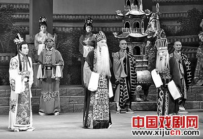 河南京剧繁忙的北京