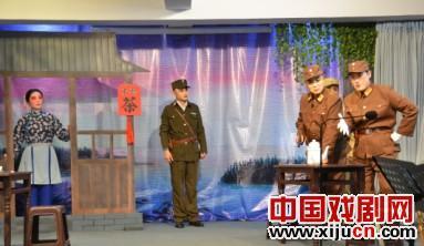 辽宁省葫芦岛市聚友会举办京剧音乐会庆祝5月1日