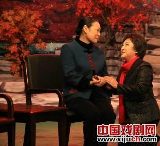由刘秀荣主演的平剧《红叶》正在上演