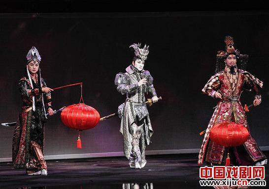 摇滚乐京剧《水浒108荡寇志》亮相第十六届中国上海国际艺术节
