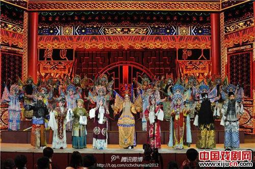 京剧《同光十三景》再现了一百年前的辉煌