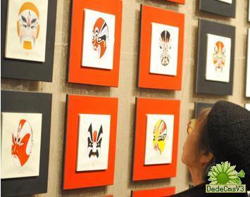 心灵的每个方面都有一个谜——中国京剧脸谱艺术展