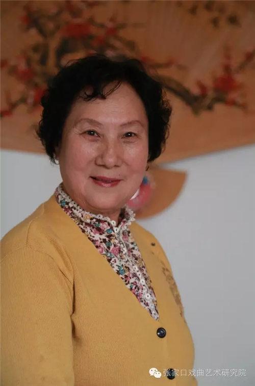 京剧表演艺术家朱玉兰在《打金枝》中表演五花调